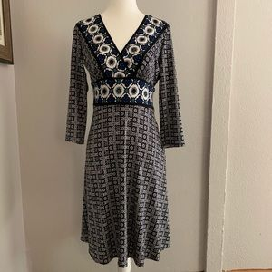 Maggy London Midi Dress Size 6